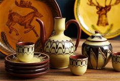 Bulgarian pottery by Bulgar USA on OneKingsLane.com