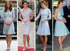 royalroaster:  Duchess of Cambridge in blue