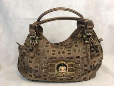 Betty Boop Brown Jacquard Hobo Satchel Purse Handbag Collectible Gift | Clothing, Shoes & Accessories, Women's Handbags & Bags, Handbags & Purses | eBay!