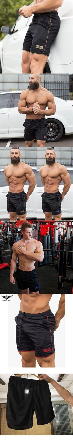 KORKSLORES 2017 Men's Casual Summer Shorts Sexy Sweatpants Male Fitness Bodybuilding Workout Man Fashion Crossfit Short pants
