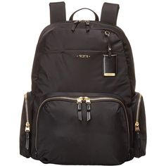 6fb33040a02b Tumi Voyageur Calais Backpack (Black) Backpack Bags (39.365 ISK) ❤ liked on  Polyvore featuring bags
