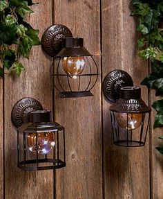 LTD COMMODITIES -- The 2-In-1 Solar Cage Fairy Light Lantern offers 2 ways to use it, wall mounted or standing on a flat surface. A string of 5 warm white LEDs lightup the a