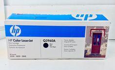 Genuine HP Q3960A Toner Cartridge LaserJet Printer 2550 2820 Opened Box -