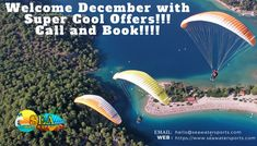 Definitely, this can be your dream coming true with Sea Water Sports. Be it your first date or your lovely vacation time. Book the Season Offers Now!!!  Welcome December with Super Cool Offers!!! Call and Book!!!! www.seawatersports.com