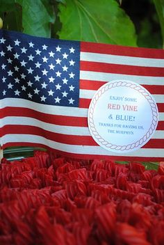 Red Vine and Blue!
