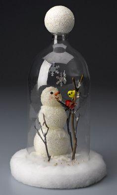 Resultado de imagem para enfeite de natal com garrafa pet