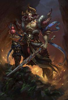 Demonio guerrero