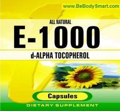 E-1000 Iu Softgel       www.BeBodySmart.com
