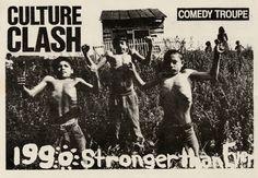 Culture Clash: Stronger Than Ever Tour postcard, 1990. Culture Clash Collection.