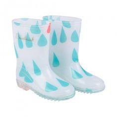 Bottes de pluie gouttes [Billieblush]