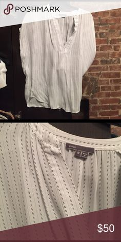 Vince silk top Like new 100% silk, first photo for fit reference Vince Tops Blouses