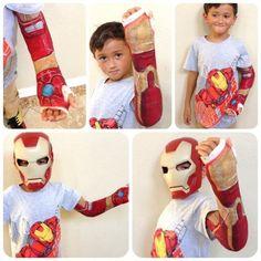 Cast Decoration - A creative way to turn a broken arm into a superhero accessory! Broken Arm Cast, Broken Wrist, Spiderman Cast, Kids Cast, Cast Art, Ironman, Sick Kids, Modern Kids, Child Life