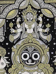 Madhubani Paintings Peacock, Kalamkari Painting, Madhubani Art, Indian Art Paintings, Art Forms Of India, Indian Traditional Paintings, Durga Painting, Lord Jagannath, Doodle Art Drawing
