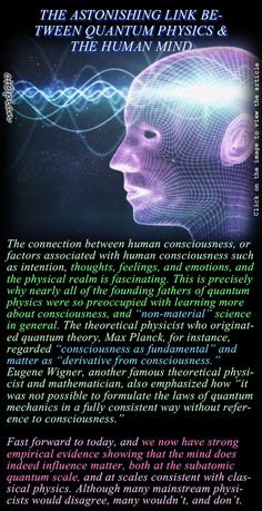 THE ASTONISHING LINK BETWEEN QUANTUM PHYSICS & THE HUMAN MIND