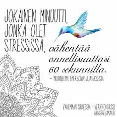 Vaikka aivomme ovat kehittyneet evoluutiossa havainnoimaan uhkia, on mahdollista opetella kytkemään uhkaskanneri pois päältä, ja nauttia elämästä. Jos kaipaat kevyempää mieltä, tervetuloa Stressaa vähemmän -verkkokurssille, jossa on paljon ihania minimeditaatioita ja harjoituksia sekä mieltä helpottavaa tietoa. Lue lisää etusivulta!  Sanna #nautielämästä #stressaavähemmän #eläenemmän #elämäonnyt #kaikkionhyvin #verkkokurssi