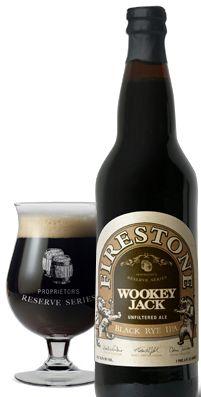Firestone Walker's Wookey Jack Black Rye IPA- Paso Robles, CA