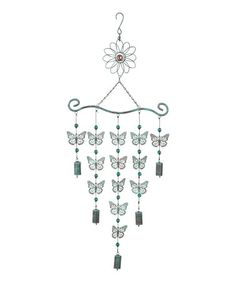 Love this Hanging Butterfly Bell by Grasslands Road on #zulily! #zulilyfinds
