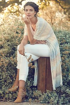 Ombre Stripe Duster #anthropologie