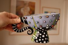 colorful alice in wonderland fanciful cup curls Natalya Sots  lots of process and technique photos here: http://www.flickr.com/photos/10418916@N08/sets/72157600952310466/
