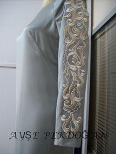 Sleeve embroidery. kıyafet