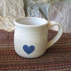 Ceramic Coffee Mug Handmade Tea Cup Pottery Stoneware Mug. $20,00, via Etsy.