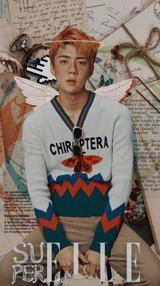 Sehun, Exo Kai, Kpop Iphone Wallpaper, Exo Lockscreen, Cute Korean, Mamamoo, Monsta X, Boy Bands, Graphic Sweatshirt