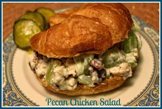 Sweet Tea and Cornbread: Mama's Pecan Chicken Salad!