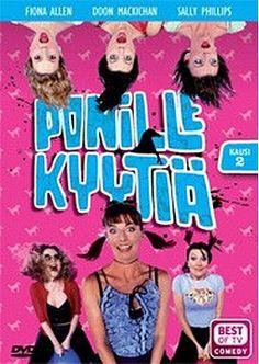 Ponille kyytiä 2.kausi dvd 4,99€Varmaan paras puhtaasti woman-power-sketsisarja. Gotta get them all. #2