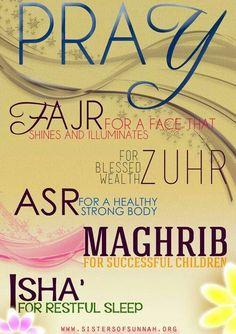 The reward of prayer  #islam