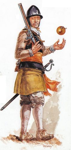 Dutch Grenadier circa 1630