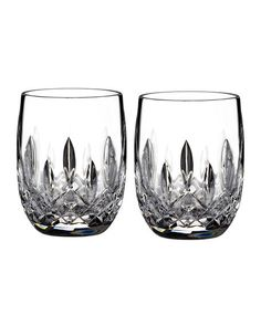 Waterford Lismore Rounded Tumblers Set of 2 $75 - FREE S & H - COMPARE ELSEWHERE AT $100 - Shop SARTO'S - SartosHome.Com