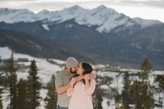 Sapphire Point Overlook March Proposal Intimate Engagement Photography