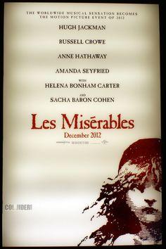 Les Miserables, the movie! December 2012