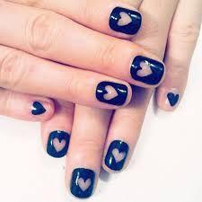 Nail art con bonitos corazones   Decoración de Uñas - Manicura y Nail Art