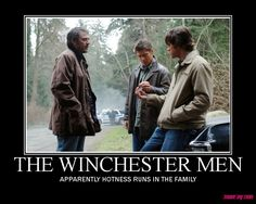 Winchesters - Hotness runs in the family
