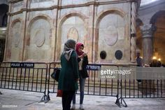 People visit The tomb of Jesus Christ with the rotunda is seen in the Church of the Holy Sepulchre on March 21 2017 in Jerusalem Israel The tomb of... Jesus Tomb, Jesus Christ, Stock Pictures, Stock Photos, Royalty Free Photos, Religion, Gallery, Jerusalem Israel, March 21