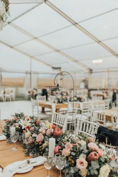 This couple's South African wedding was held on the groom's family farm that has been in the family for generations, the perfect setting for a celebration