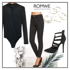 """""""ROMWE 14/7"""" by thefashion007 ❤ liked on Polyvore featuring Élitis"""
