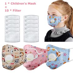 Reusable Flu Mask for Kids. Anti Flu Face Mask for Kids. Breathable and Washable Sponge Face Mask for Kids. Cotton Material Fabric Face Mask from Kids. Face Mask Available with or without Valves. Cartoon Panda, Cartoon Kids, Eyebrow Stencil, Half Face Mask, Face Masks, Activated Carbon Filter, Black Singles, Child Face, Mouth Mask