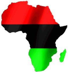 pan-african-map-large.gif (334×350) African American Tattoos, African American History, Afro, Black Love Art, Red Black, Africa Tattoos, African Image, Africa Flag, Pan Africanism