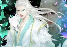 Fantasy, Beautiful and dreams: Photo My Fantasy World, Fantasy Male, Chinese Drawings, Chinese Art, Chica Cool, Traditional Paintings, Animated Cartoons, Fantasy Inspiration, Boy Art