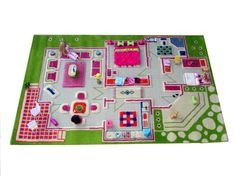 These IVI 3D play carpets from @lucaandcompany are the perfect playroom rug!