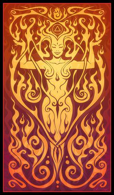 Fire Spirit by Cristina McAllister - Fire Spirit Digital Art - Fire Spirit Fine Art Prints and Posters for Sale