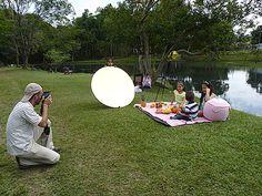 Detras de camaras (making of) fotografia tematica picnic