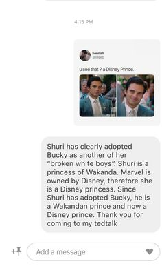 "Moreover, T'Challa called Bucky ""White Wolf"", who is the adopted brother of the Black Panther in the comics Bucky is soooo adopted Avengers Memes, Marvel Memes, Marvel Dc Comics, Marvel Avengers, Sebastian Stan, Black Panthers, Loki, Ironman, Dc Movies"