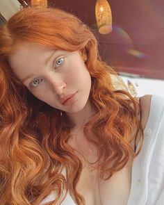 Glossy Rose - 20 Brilliant Rose Gold Hair Color Ideas for 2019 - The Trending Hairstyle Beautiful Red Hair, Gorgeous Redhead, Pretty Hair, Red Hair Color, Cool Hair Color, Hair Colors, Red Color, Michelle Instagram, Red Hair Woman