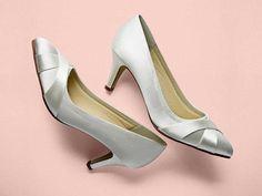 Lexi - Satin Court Shoes