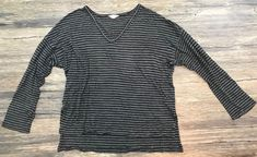 Madewell Knit Top Striped Womens Large 923  | eBay