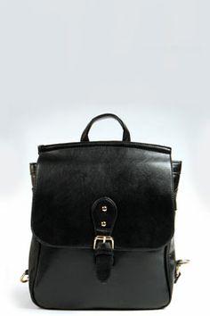 Phoebe Rectangular Structured Backpack