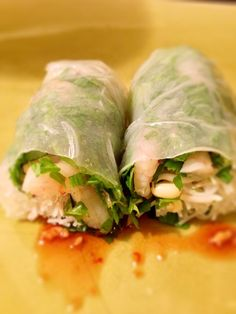 vietnamese spring rolls Vietnamese Spring Rolls, Fresh Rolls, Cooking, Ethnic Recipes, Food, Kitchen, Vietnamese Egg Rolls, Essen, Meals